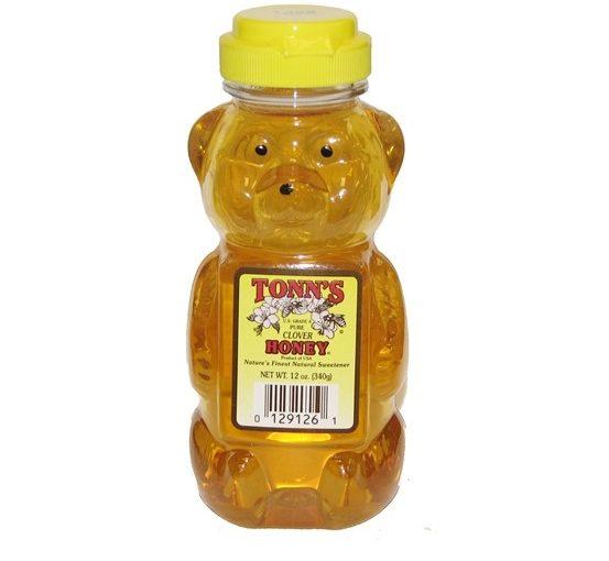 Tonn's Pure Clover Honey