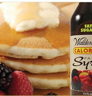 Pancake syrup detail