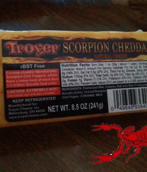 Scorpion Cheddar