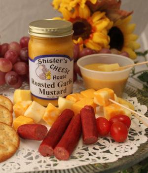 Shisler's Roasted Garlic Mustard