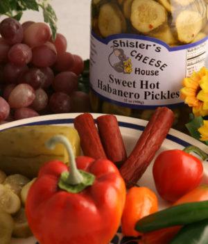 Shisler's Sweet Hot Habanero Pickles