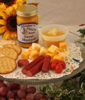 Shisler's private labelled Sweet Mustard