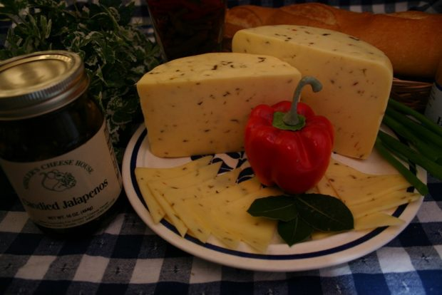 Yogurt Cheese with Jalapenos