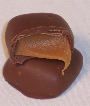 sugar free chocolate caramel