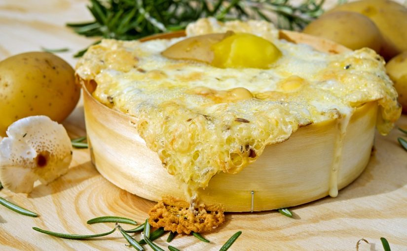 oven baked cheese