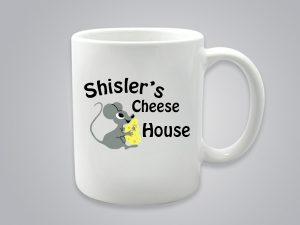 Shisler cheese house mug