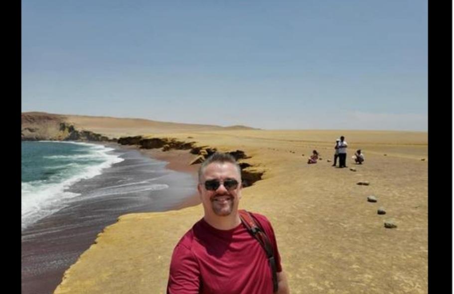 Dennis exploring Peru prior to the lockdown