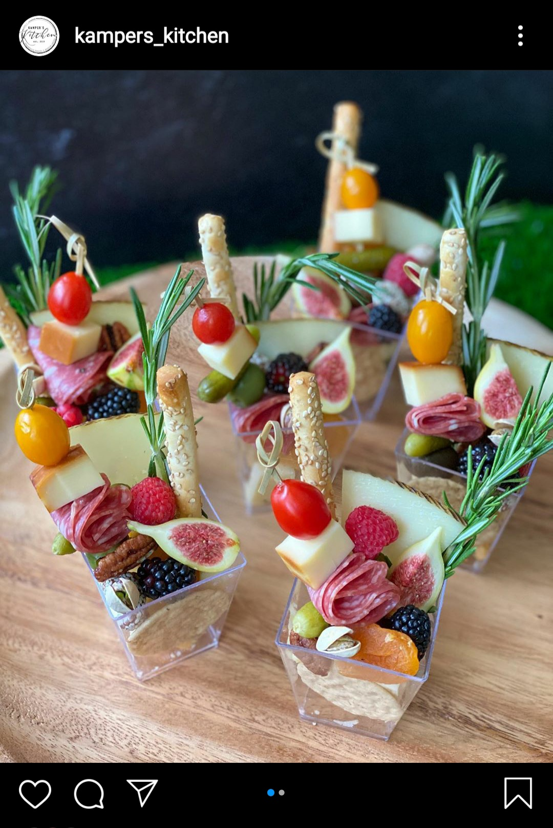 Charcuterie cups by @kampers_kitchen