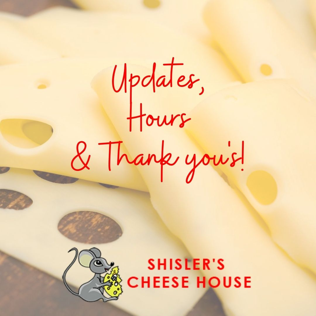 Some Updates from the Cheesehouse